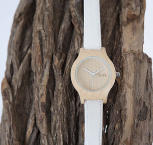 Pearl Wood Watch