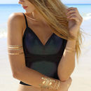 Temporary Metallic Tattoos Mermaid Jewels