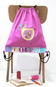 Girls Personalised Cotton Nursery Bag - children's accessories