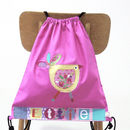 Girls Personalised Cotton Nursery Bag