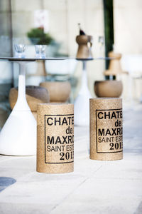 Giant 2015 Bordeaux Wine Cork Stool *Save £20