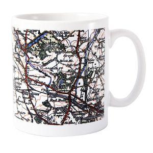 1919 1926 Map Mug