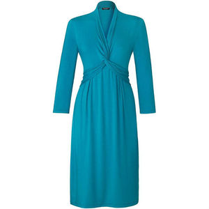 Turquoise Easy Jersey Dress