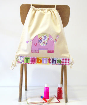 Personalised Elephant Bag
