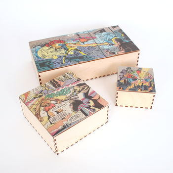 Comic Strip Accessory Box