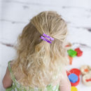 Pair Of Glitter Non Slip Hair Clips