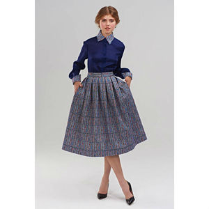 Sybil Super Full Pleated Skirt - skirts & shorts