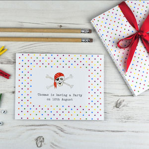 Personalised Children's Party Invitation Postcard - postcards