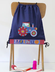 Personalised Tractor Bag - children's accessories