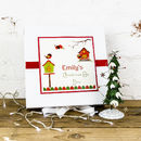 Personalised Robin Christmas Eve Surprise Box
