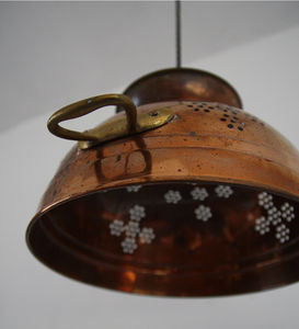 Copper Colander Lights
