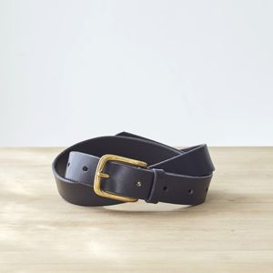 Jenny Hip And Waist Leather Belt - belts