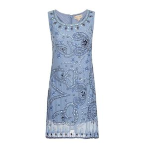 60% Off Giselle Embellished Shift Dress - women's fashion