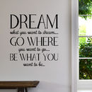 'New' Dream Wall Sticker