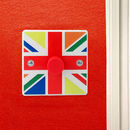 British Made Union Jack Bedroom Light Switch