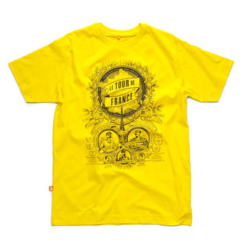 Birth Of Le Tour Cycling T Shirt