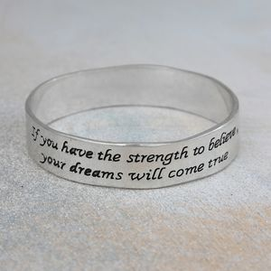 Believe In Your Dreams Bangle - women's sale