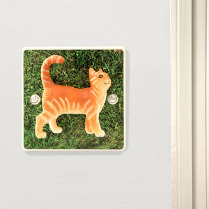 Decorative Cat Light Switch - light switches