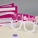 30th Birthday Card Glasses For Her