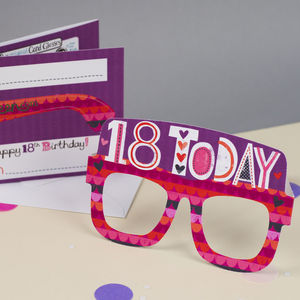 18th Birthday Card - birthday cards