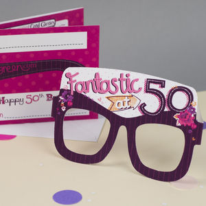 50th Birthday Card For Her - birthday cards