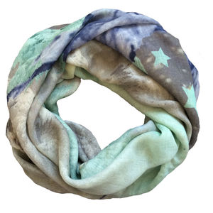 Ethereal Stags Cashmere Scarf