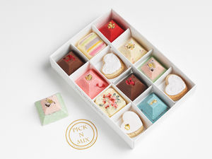 Pick 'N' Mix Belgian Chocolates - gifts to eat & drink
