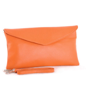 The Alessi Clutch In Orange
