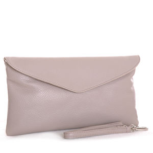 The Alessi In Taupe - clutch bags
