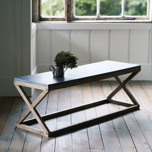 Grove Slate Top Table - coffee tables
