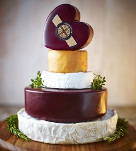Celebration Cake Of Cheese - gifts for cheese lovers