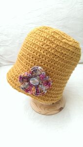 Ladies British Wool Cloche Hat - hats, scarves & gloves