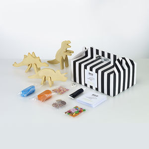 Children's 3D Dinosaur Biscuit Decorating Kit - make your own kits