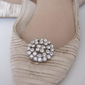 Art Deco Bridal Shoe Clips Shoe Accessories