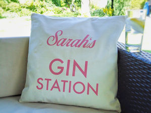 Gin Station Cushion Cover - cushions