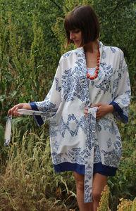 Goa Short Kimono Dressing Gown