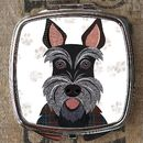 Scottie Dog Compact Mirror
