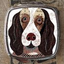 Springer Spaniel Dog Compact Mirror