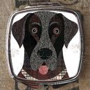 Labrador Dog Compact Mirror