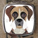 Boxer Dog Compact Mirror