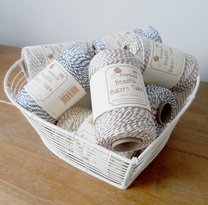 Metallic Baker's Twine Reel - wedding stationery