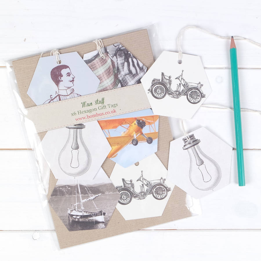 Vintage Sport And Travel Luxury Gift Tags