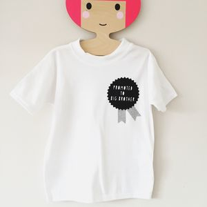 Promoted To Big Brother / Big Sister Tshirt - announcement and gender reveal ideas