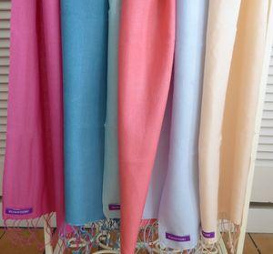 Bright Cashmere Silk Pashmina Scarves - pashminas & wraps