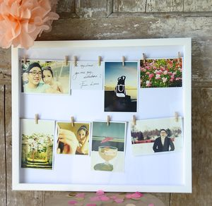 Clothes Line Photo Frame - picture frames