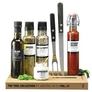 Carving And Condiments Set - interests & hobbies