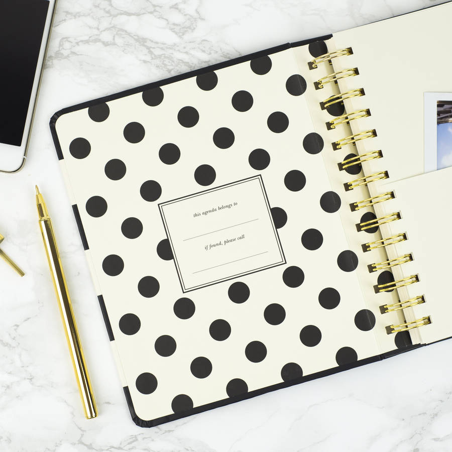 Kate spade 2017 agenda by magpie decor - Agenda 2018 original ...