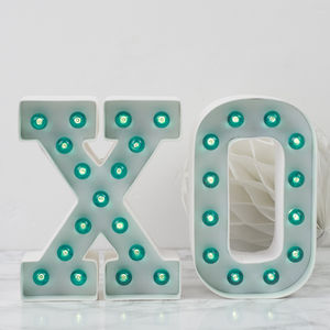 Mini Marquee Light Up Letter