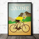 Retro Vintage Cycling Poster #One