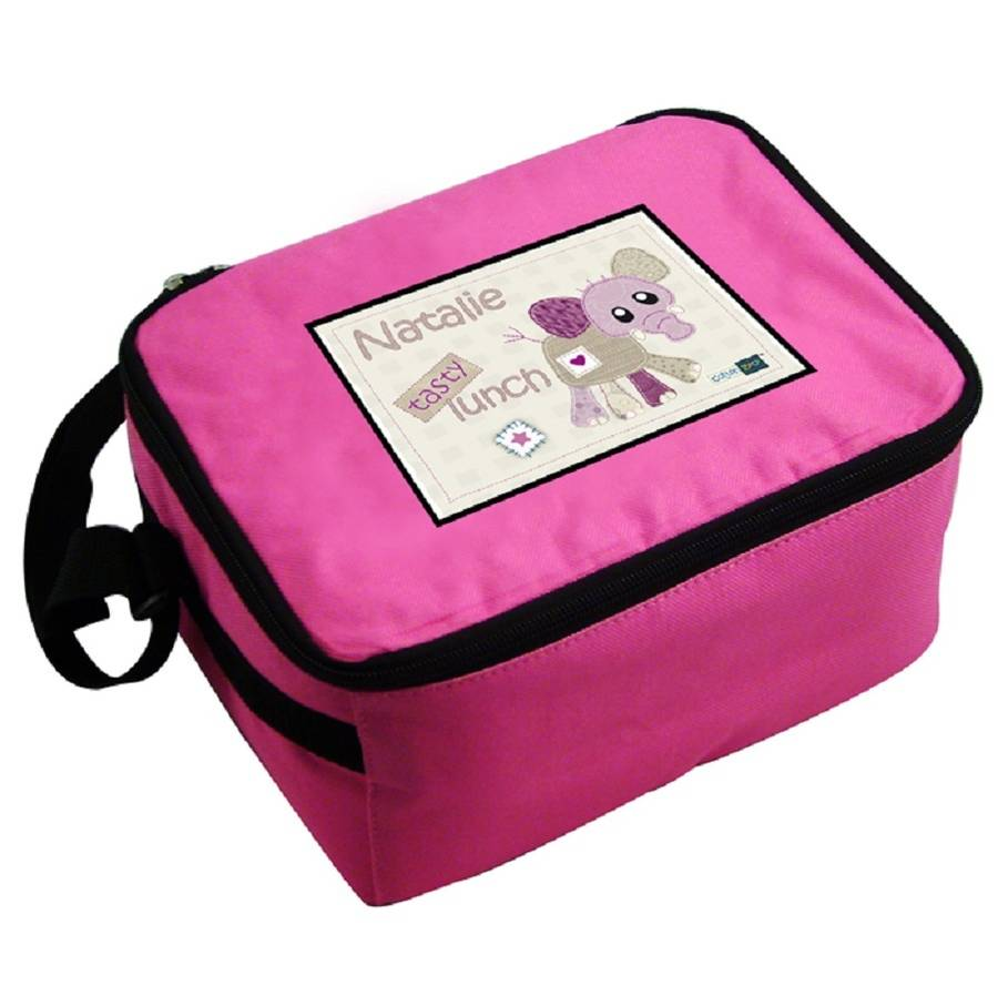 Personalised Wynciette The Elephant Lunch Bag